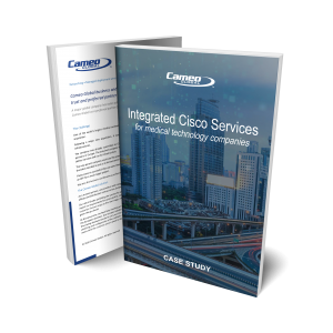 Read our case study: Integrated Cisco Services for Major Medical Technology Companies