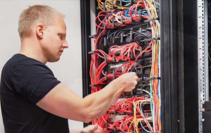 Structured cabling vs unstructured cabling
